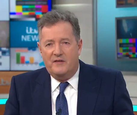 Piers Morgan left Susanna Reid in hysterics after calling himself a naughty wordITV