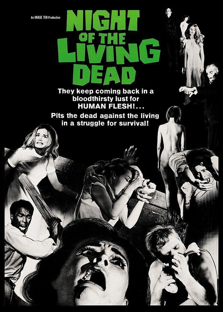 """<p>The first of George Romero's cult classic film series basically invented the modern zombie flick as we know it (it's even preserved in the Library of Congress' <a href=""""https://www.loc.gov/programs/national-film-preservation-board/film-registry/complete-national-film-registry-listing/"""" rel=""""nofollow noopener"""" target=""""_blank"""" data-ylk=""""slk:National Film Registry"""" class=""""link rapid-noclick-resp"""">National Film Registry</a> for its historical significance), and tells the chilling story of seven people under attack from a group of undead corpses. You'll definitely want to watch the five subsequent films in the series, too! </p><p><a class=""""link rapid-noclick-resp"""" href=""""https://www.amazon.com/Night-Living-Dead-Duane-Jones/dp/B001KSLG40?tag=syn-yahoo-20&ascsubtag=%5Bartid%7C10055.g.33546030%5Bsrc%7Cyahoo-us"""" rel=""""nofollow noopener"""" target=""""_blank"""" data-ylk=""""slk:WATCH ON AMAZON"""">WATCH ON AMAZON</a> </p>"""