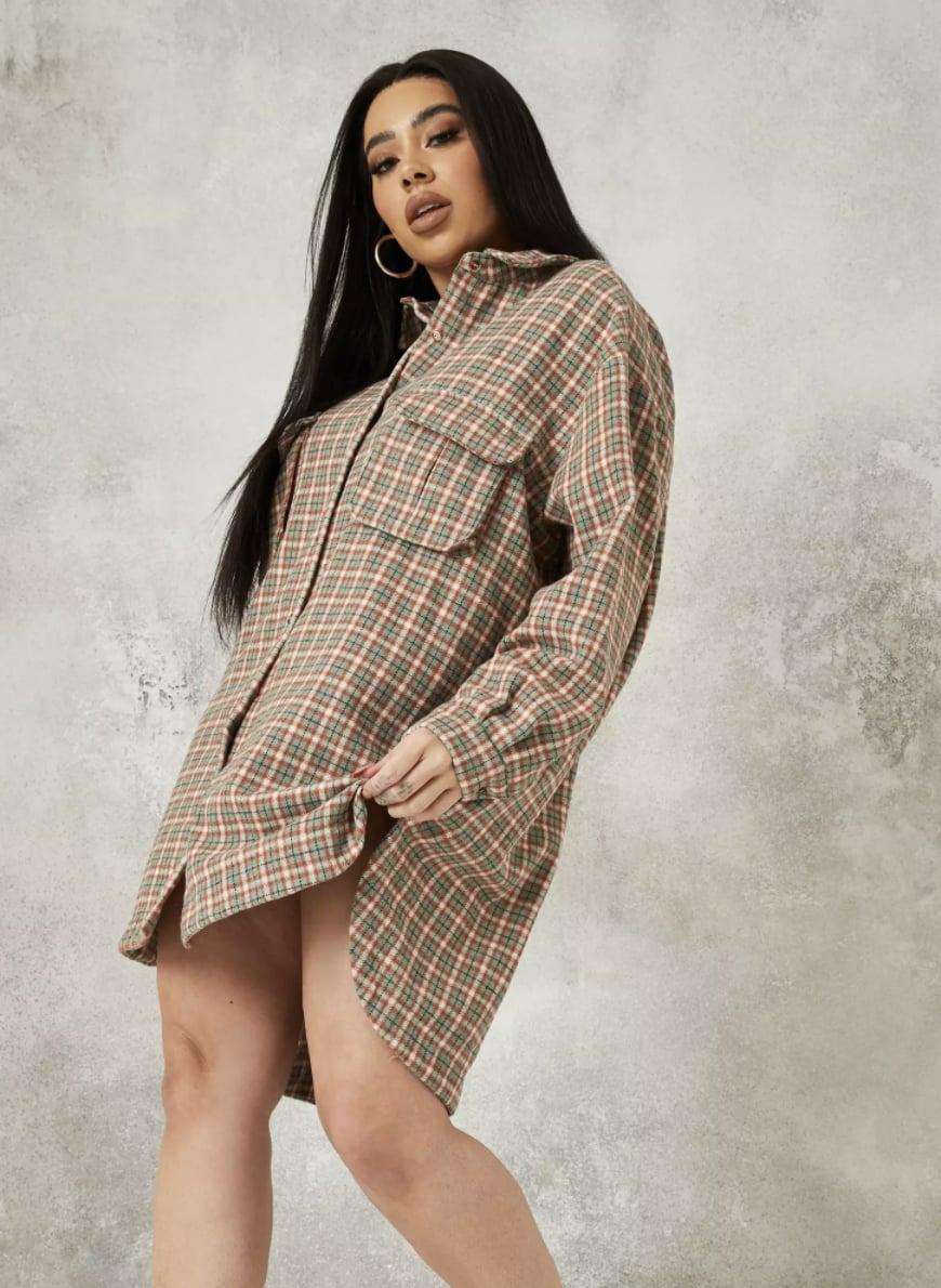 <p>This <span>Missguided Plaid Oversized Shirt Dress</span> ($25, originally $63) will enable all your movements.</p>