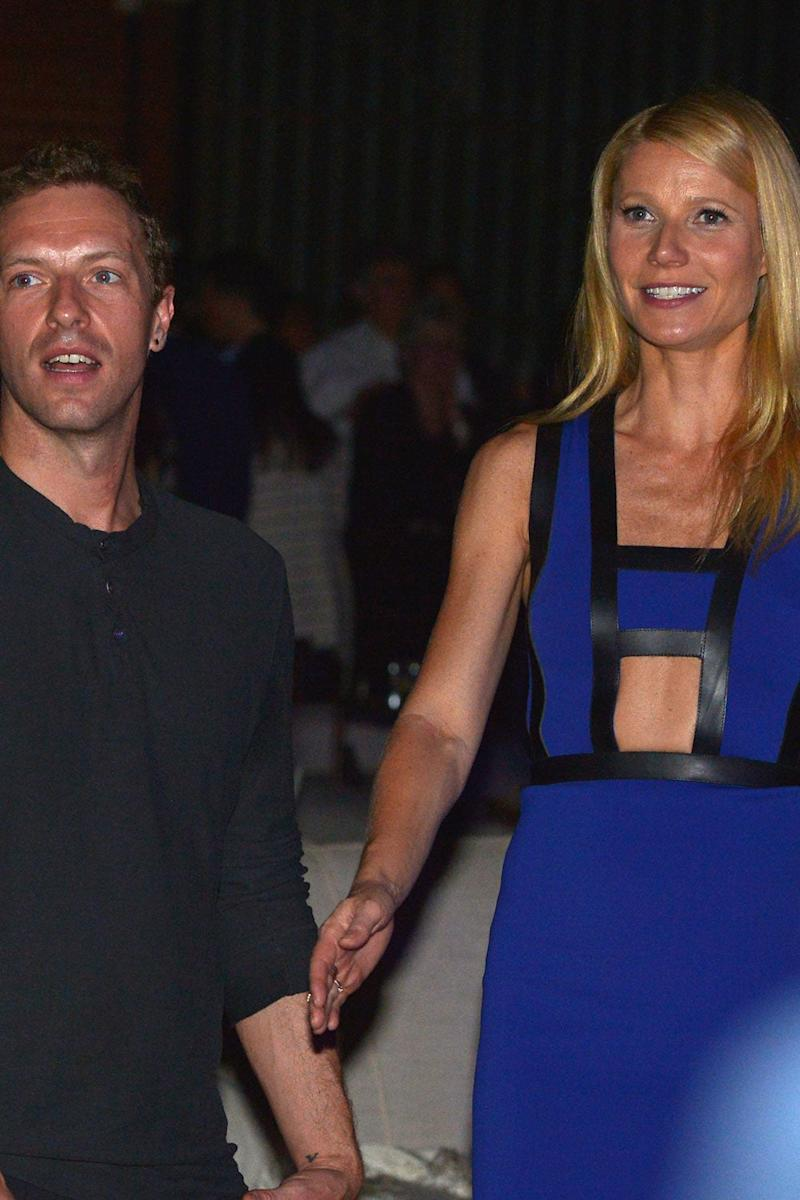 Chris Martin and Gwyneth Paltrow pictured in 2014 (Charley Gallay/Getty Images for Entertainment Industry Foundation)
