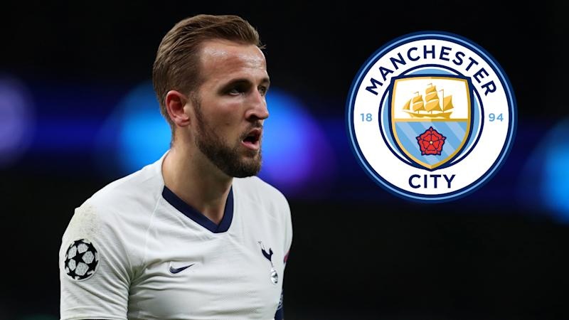'Man City should definitely go for Kane' - Tottenham striker would give Guardiola a 'plan B', says Sinclair