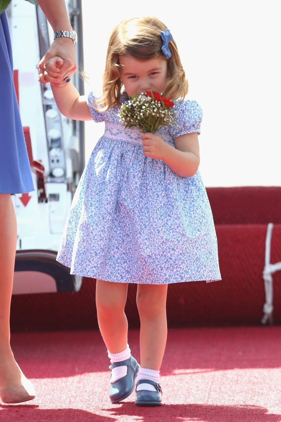 """<p>From toys to flower bouquets, royal children are often showered in gifts whenever they attend public events. Though per royal protocol, the <a href=""""https://www.goodhousekeeping.com/life/g4817/odd-royal-family-rules/?slide=31"""" rel=""""nofollow noopener"""" target=""""_blank"""" data-ylk=""""slk:Queen gets to decide"""" class=""""link rapid-noclick-resp"""">Queen gets to decide</a> what they can keep.</p>"""