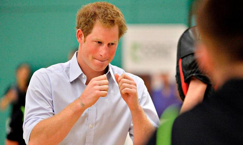 "Boxing was a lifeline for Prince Harry as he suffered ""total chaos"" in dealing with the death of his mother Princess Diana."