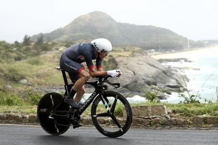 2016 Rio Olympics - Cycling Road - Final - Men's Individual Time Trial - Pontal - Rio de Janeiro, Brazil - 10/08/2016. Chris Froome (GBR) of United Kingdom competes. REUTERS/Bryn Lennon/Pool FOR EDITORIAL USE ONLY. NOT FOR SALE FOR MARKETING OR ADVERTISING CAMPAIGNS. - RTSMET1