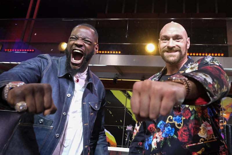 Deontay Wilder and Fury go head to head again in Las Vegas on February 22 (AFP via Getty Images)