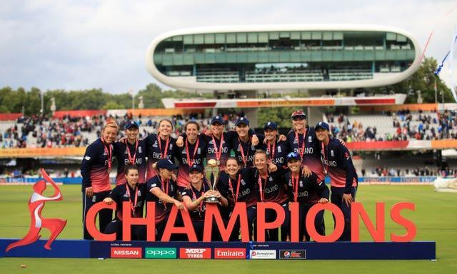 England defeated India in the 2017 World Cup final (John Walton/PA)