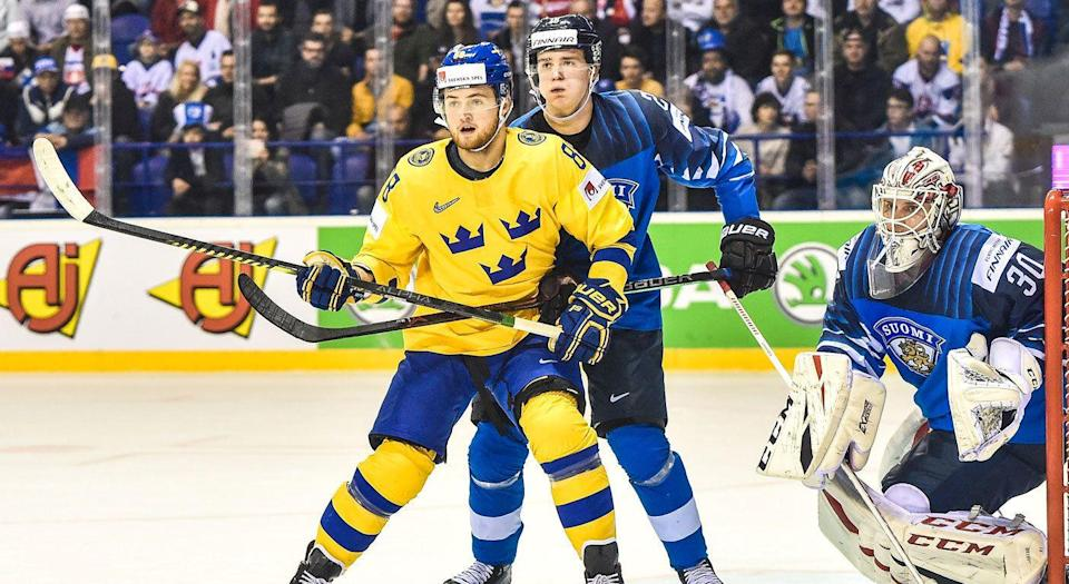 William Nylander was on one at the worlds. (Getty)