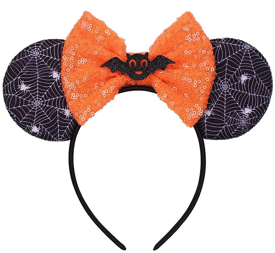 <p>These <span>Disney Halloween Bow Mouse Ears</span> ($14) can be customized many different ways.</p>
