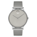 "<p><a class=""link rapid-noclick-resp"" href=""https://www.movado.com/us/en/shop-watches/movado-face-3640008.html"" rel=""nofollow noopener"" target=""_blank"" data-ylk=""slk:BUY IT HERE"">BUY IT HERE</a></p><p>For some of the most eye-catching timepieces, Movado is one of the best men's watch brands out there. Their minimal designs are usually rendered in monochromatic colorways, accented by either bursts of color or architectural details. This sleek gray version feels equal parts futuristic and fashion-forward. </p>"
