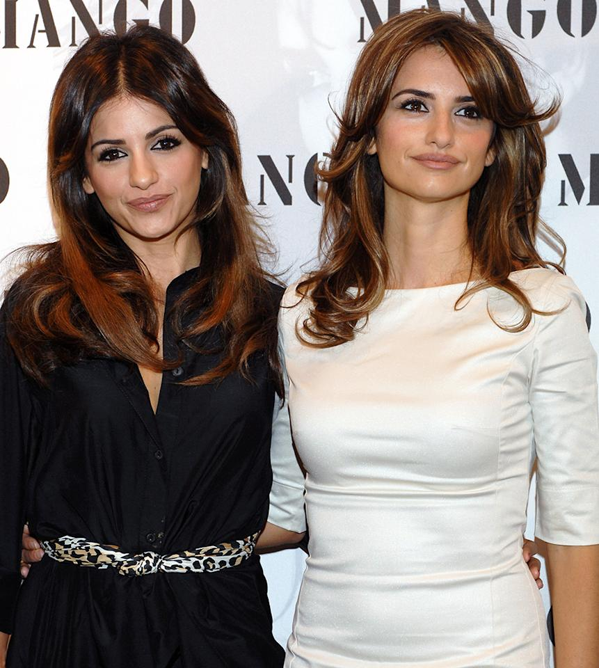 The Cruz family has provided the world an embarrassment of genetic riches, as Penelope's younger sister, Monica, could likely pass as a twin of the beautiful Spanish actress (and former Globe nominee). The two are working together on a line of lingerie for Agent Provocateur. They're not the only successful members of the clan: younger brother Eduardo is a singer-songwriter who dated actress Eva Longoria in 2011-12.