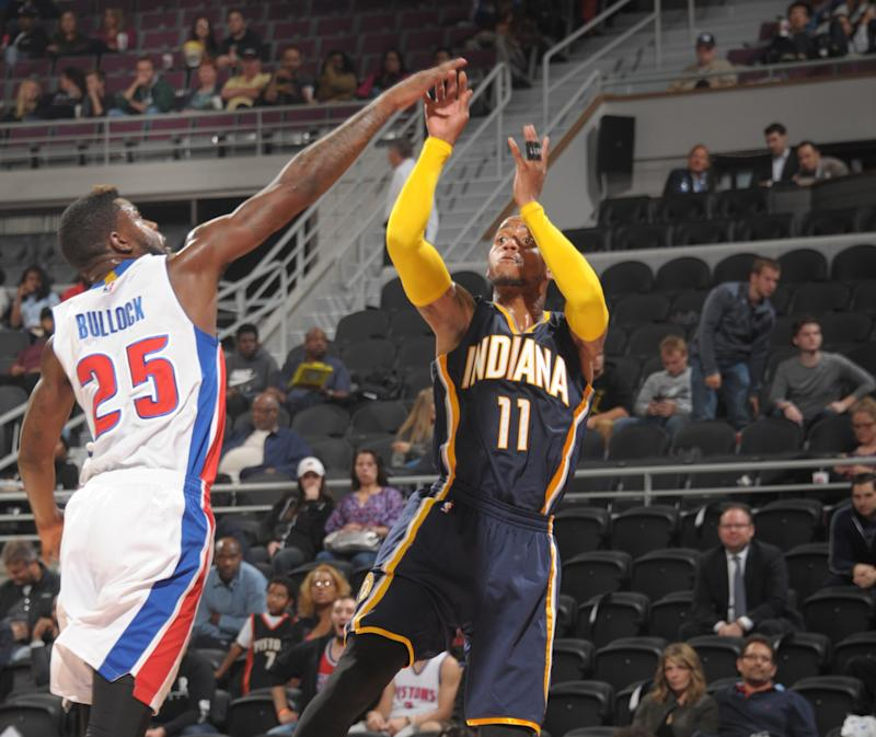 Reggie Bullock and Monta Ellis both received five-game suspensions from the NBA. (Getty Images)