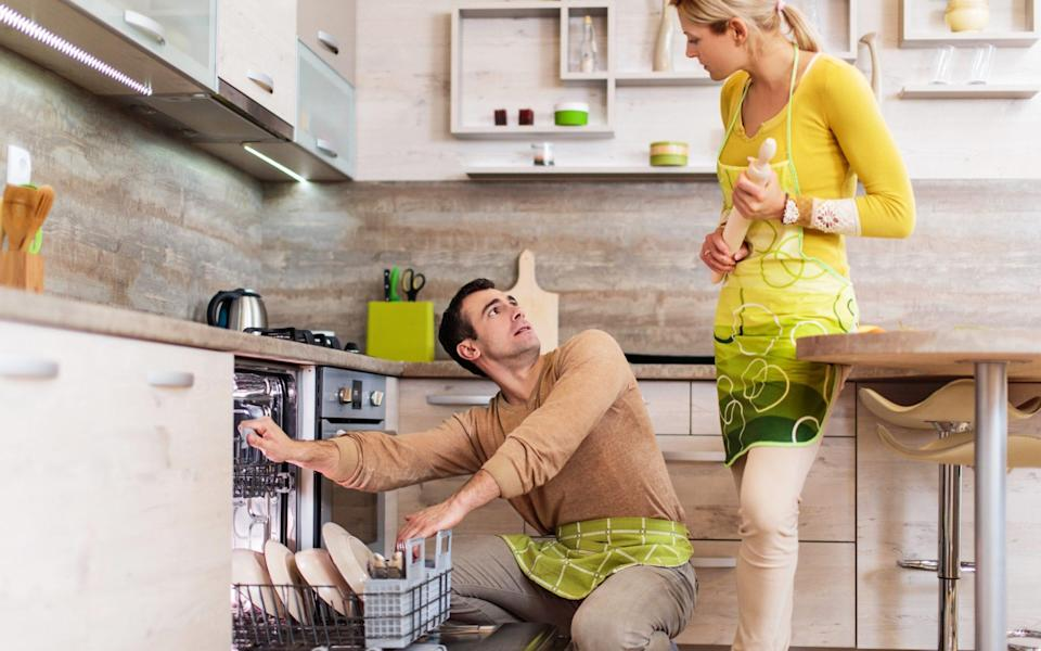 Is everyone in your house on the same page about dishwasher etiquette? - E+/ skynesher