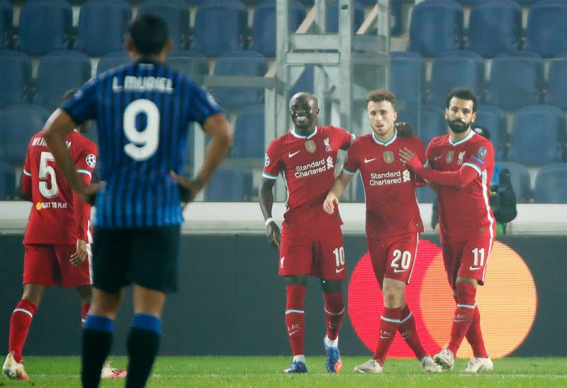 Champions League - Group D - Atalanta v Liverpool