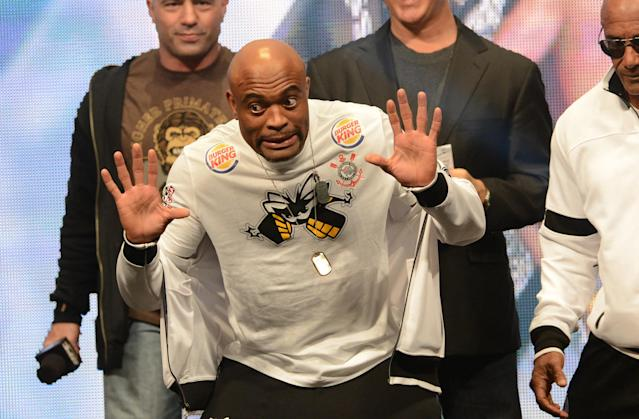 Former UFC champ Anderson Silva cleared for sparring