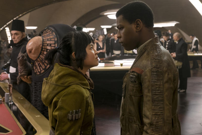 """The Last Jedi"" hints at a love triangle, and I have really mixed feelings about it"