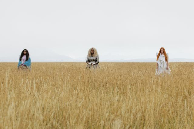 """Mindy Kaling, Oprah Winfrey and Reese Witherspoon in """"A Wrinkle in Time."""""""