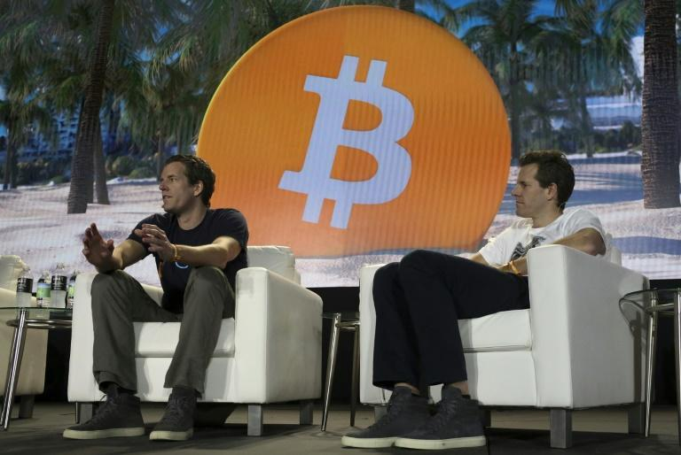 Tyler Winklevoss (L) and Cameron Winklevoss (R), founders of cryptocurrency exchange Gemini, believe bitcoin is gold 2.0