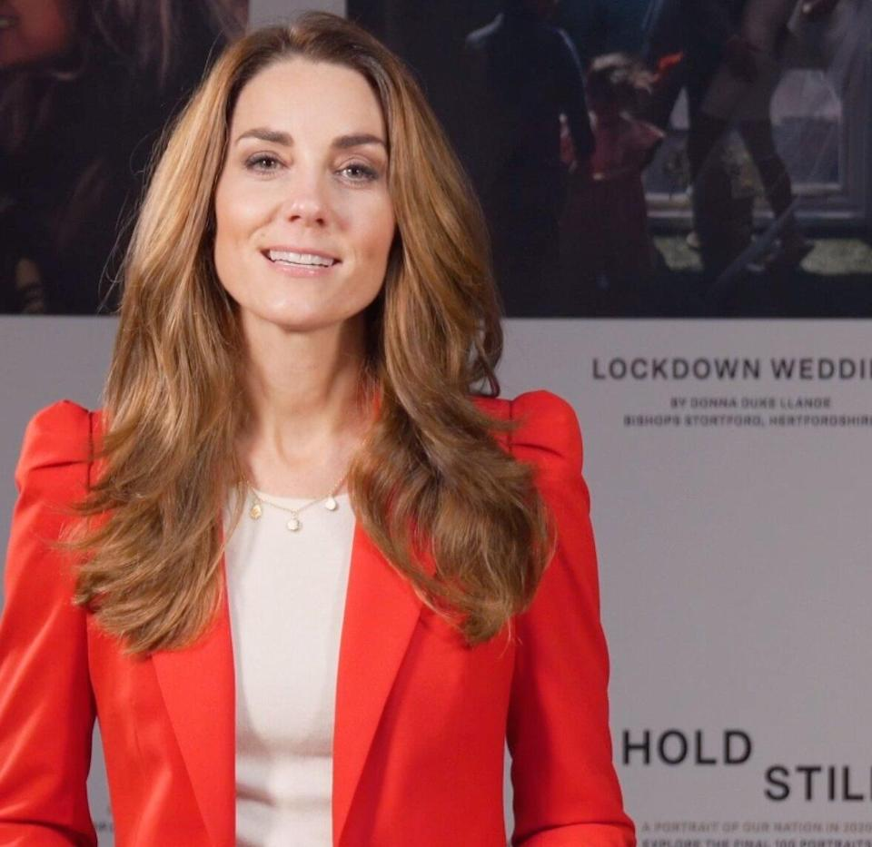 Kate Middleton Gets Emotional During Chat with Nurse Who Took 'Iconic' Photo for Her Exhibit