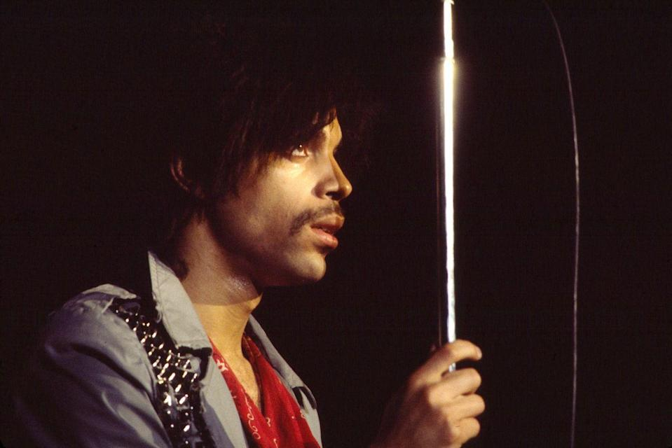 <p>The iconic musician and performer kept a neat, trimmed 'stache that complemented his groovy outfits and various hairstyles.</p>