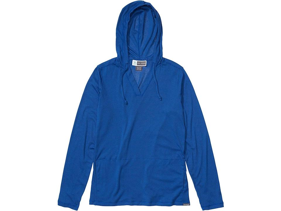 "<h3>ExOfficio BugsAway Lumen Hoodie</h3> <br>Not all mosquito repellants come in skin-slathering or scented form — throw on this cozy Insect Shield®-treated hoodie for invisible and odorless bite-protection all summer long.<br><br>As one reviewer raves: ""This shirt has been life-changing! I didn't really expect it to actually keep the bugs off but packed it for a camping trip in the humid, mosquito-infested Midwest. I was so ecstatic to see mosquitoes landing on my upper body before flying away...without biting me! The shirt is lightweight and very breathable (the fabric has little holes in it for amazing airflow), so it was perfect for camping in the midwest humidity. It kept me warm on cooler nights but I could still wear it in the mornings as it warmed back up."" <br><br><strong>ExOfficio</strong> BugsAway Lumen Hoody, $, available at <a href=""https://go.skimresources.com/?id=30283X879131&url=https%3A%2F%2Fwww.zappos.com%2Fp%2Fexofficio-bugsaway-lumen-hoodie-admiral-blue%2Fproduct%2F8816961%2Fcolor%2F90805"" rel=""nofollow noopener"" target=""_blank"" data-ylk=""slk:Zappos"" class=""link rapid-noclick-resp"">Zappos</a><br><br><br>"