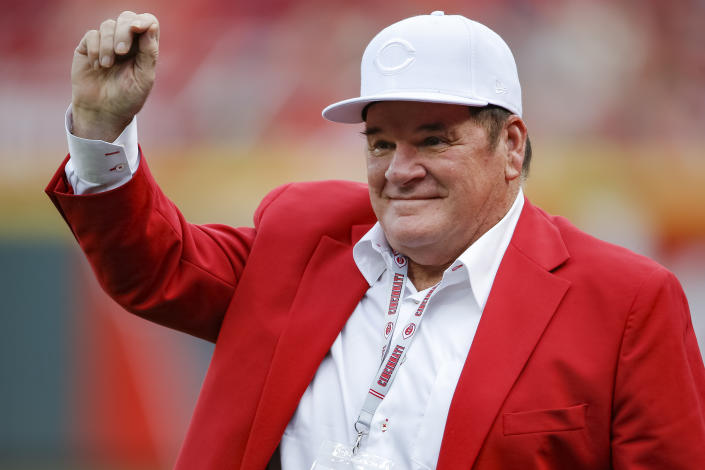 Former Cincinnati Reds manager and player Pete Rose