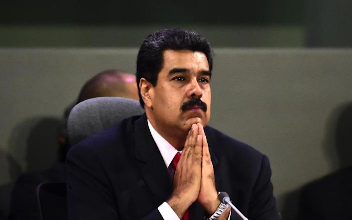 If Venezuelan President Nicolas Maduro loses the recall vote post-January 10, he would be replaced by his hand-picked vice president, defeating the opposition's hope to change government (AFP Photo/Ronaldo Schemidt)