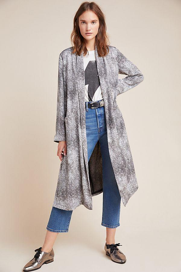 BB Dakota Serpentine Duster Jacket
