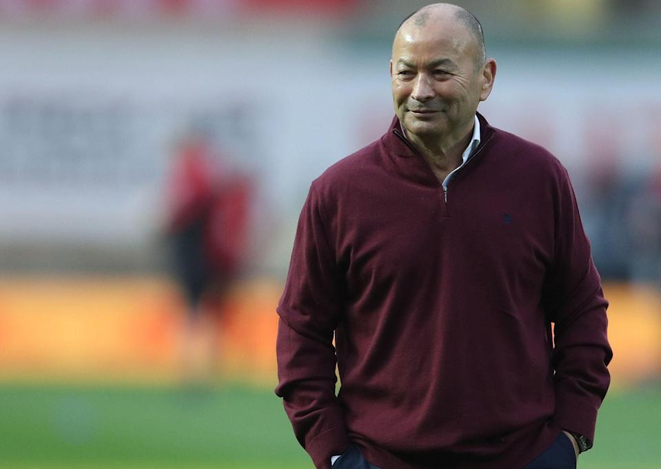 Eddie Jones was relieved to see England avoid a repeat of their 2019 defeat against Wales (AFP via Getty)
