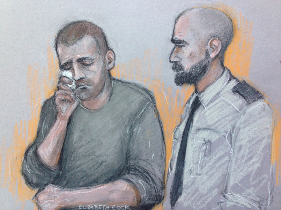 <em>Ryszard Masierak is alleged to have been asleep in his lorry for 12 minutes in the slow lane before the accident (PA)</em>