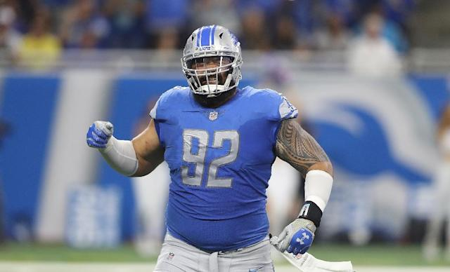 Former Baltimore Ravens lineman Haloti Ngata announced his retirement from the NFL on Monday (AFP Photo/Leon Halip)