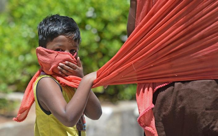 India on July 6 became the country with the third-highest coronavirus caseload in the world - AFP