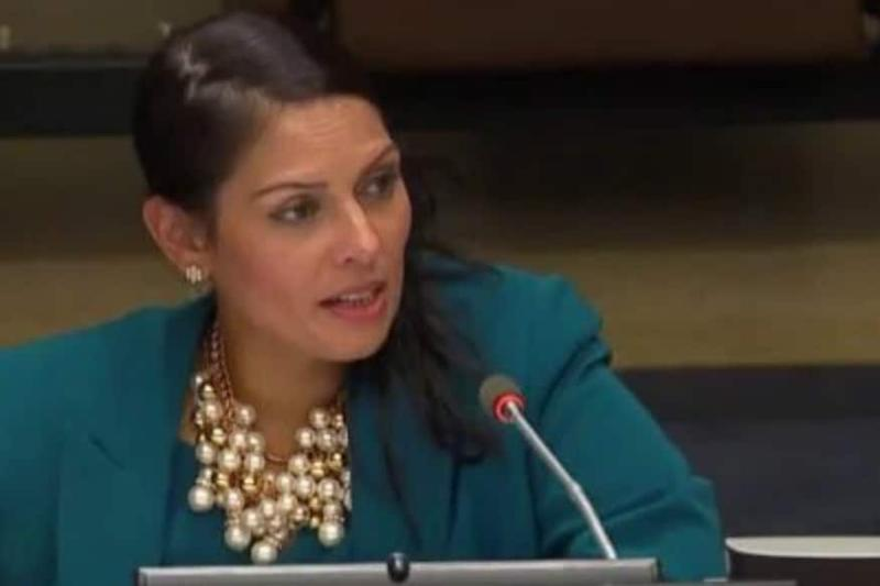 UK Home Secy Priti Patel Condemns 'Thuggery' as Protesters Clash With Police