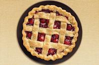 """<p>You might think of cherry pies as a staple summertime treat, but this cherry lattice pie is perfect for any time of year and is one of <a href=""""https://www.thedailymeal.com/cook/dessert-recipes-frozen-fruit?referrer=yahoo&category=beauty_food&include_utm=1&utm_medium=referral&utm_source=yahoo&utm_campaign=feed"""" rel=""""nofollow noopener"""" target=""""_blank"""" data-ylk=""""slk:the best desserts you can make from frozen or canned fruit"""" class=""""link rapid-noclick-resp"""">the best desserts you can make from frozen or canned fruit</a>.</p> <p><a href=""""https://www.thedailymeal.com/recipes/cherry-lattice-pie-recipe-0?referrer=yahoo&category=beauty_food&include_utm=1&utm_medium=referral&utm_source=yahoo&utm_campaign=feed"""" rel=""""nofollow noopener"""" target=""""_blank"""" data-ylk=""""slk:For the Cherry Lattice Pie recipe, click here."""" class=""""link rapid-noclick-resp"""">For the Cherry Lattice Pie recipe, click here.</a></p>"""