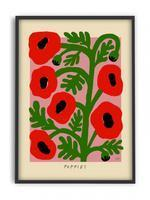 """<strong>Under £50</strong><br><br>My landlord's refusing to paint my walls and considering it's been a minute since they were last spruced up, they're looking kinda grubby. I'm therefore looking for lots of gorgeous pics to detract from any marks. This poppy print by <a href=""""https://www.pstrstudio.com/collections/madelen-mollard"""" rel=""""nofollow noopener"""" target=""""_blank"""" data-ylk=""""slk:Madelen Möllard"""" class=""""link rapid-noclick-resp"""">Madelen Möllard</a> from Holland's PSTR Studio is perfect. Lots of other options <a href=""""https://madelenmollard-shop.com/"""" rel=""""nofollow noopener"""" target=""""_blank"""" data-ylk=""""slk:on her website too"""" class=""""link rapid-noclick-resp"""">on her website too</a>, the marigolds are super cute.<br><br><strong>Madelen Möllard</strong> Madelen - Poppies, $, available at <a href=""""https://www.pstrstudio.com/products/madelen-poppies"""" rel=""""nofollow noopener"""" target=""""_blank"""" data-ylk=""""slk:pstrstudio"""" class=""""link rapid-noclick-resp"""">pstrstudio</a>"""