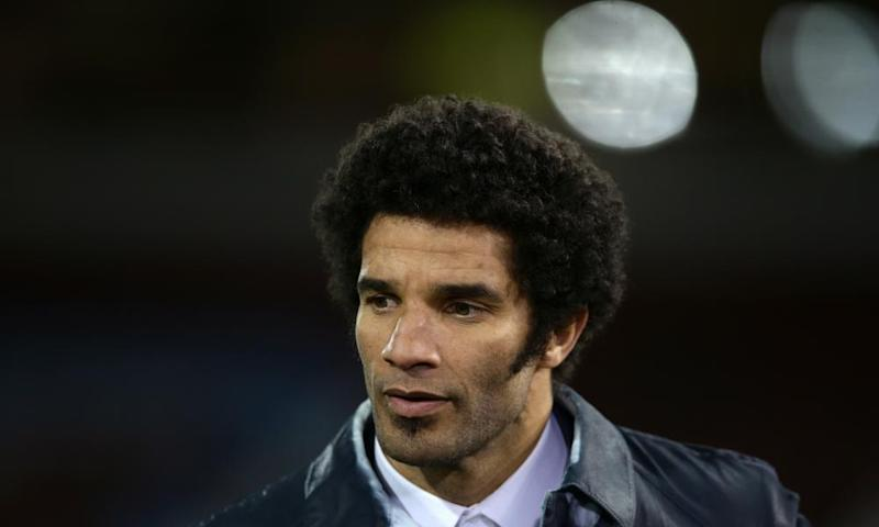 You man David James, there, giving The Fiver serious hair envy.