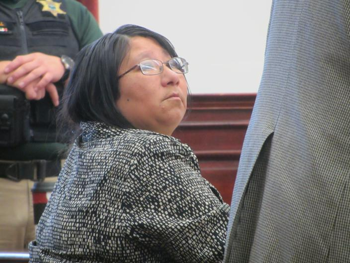 Corena Marie Mountain Chief was sentenced Monday in the sexual abuse of children and trafficking of persons.