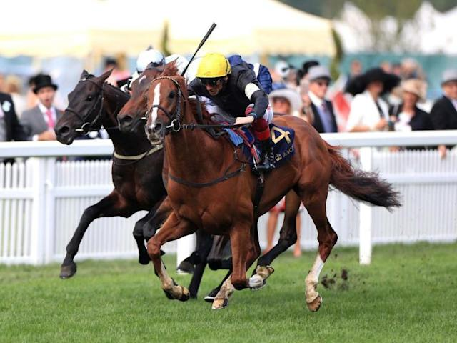 Day three at Royal Ascot hosts the feature race of the week, the Gold Cup, the event's oldest surviving race.History was made in 2013 when Estimate won the Gold Cup, making The Queen the first reigning monarch to own a winner in the race's 212-year history.Stradivarius is favourite to retain his title for jockey Frankie Dettori and trainer John Gosden, although it faces a much stronger field than the one it enjoyed 12 months ago. Follow live updates in the blog below:Where to watch?ITV will be showing live coverage of every race on ITV1 from 1:30 pm BST.Where to watch online?The Independent will keep you up to date with the dedicated live blog featuring live results and reaction throughout the day. The races will also be live on the ITV Hub.