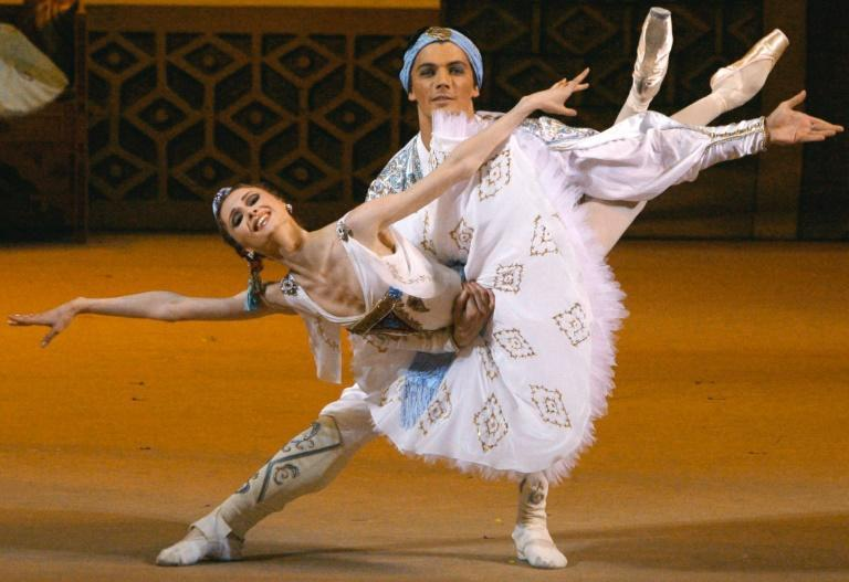 "A Russian performance of ""Le Corsaire,"" one of several classical ballets accused of disparaging people of colour"