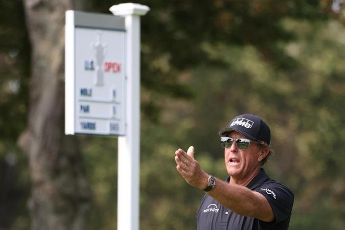Phil Mickelson prepares for another U.S. Open. (Jamie Squire/Getty Images)