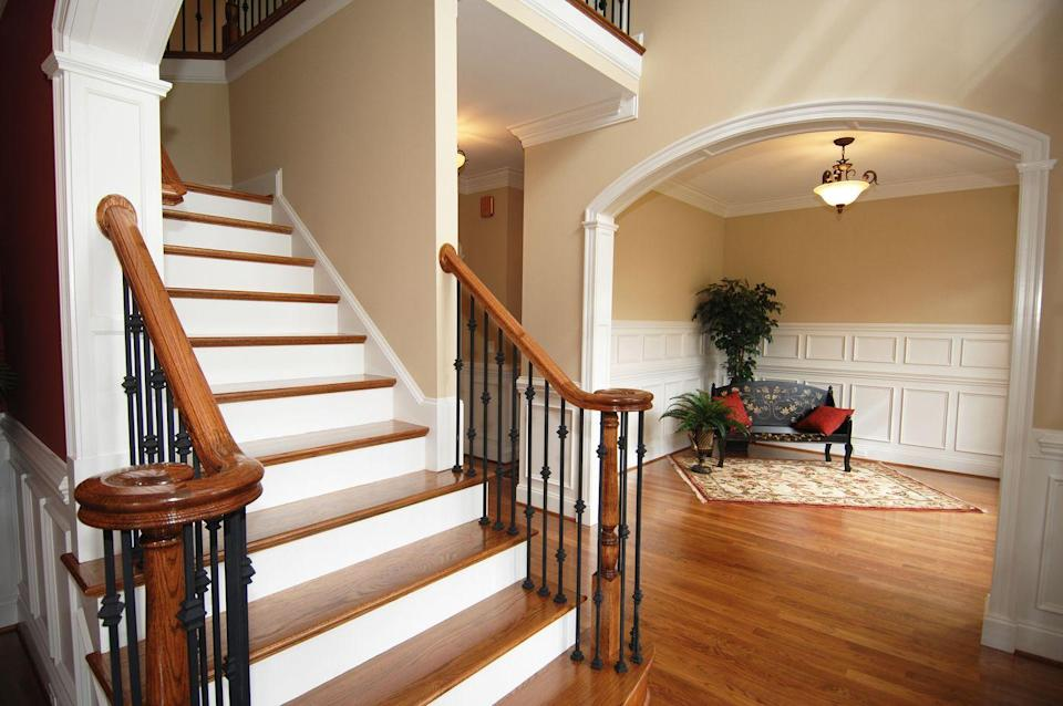 "<p>A set of stairs is the perfect place for a quick cardio hit (maybe not on your long run day). Regularly walking up 400 steps —or about 33 flights—during the course of a day can substantially increase your endurance, giving you a 17 percent bump in <a href=""https://www.runnersworld.com/vo2-max/"" rel=""nofollow noopener"" target=""_blank"" data-ylk=""slk:VO2 max"" class=""link rapid-noclick-resp"">VO2 max</a> (the maximum amount of oxygen you can take in during exercise), according to <a href=""https://bjsm.bmj.com/content/39/9/590"" rel=""nofollow noopener"" target=""_blank"" data-ylk=""slk:a study published in the"" class=""link rapid-noclick-resp"">a study published in the </a><em><a href=""https://bjsm.bmj.com/content/39/9/590"" rel=""nofollow noopener"" target=""_blank"" data-ylk=""slk:British Journal of Sports Medicine"" class=""link rapid-noclick-resp"">British Journal of Sports Medicine</a></em>. </p>"