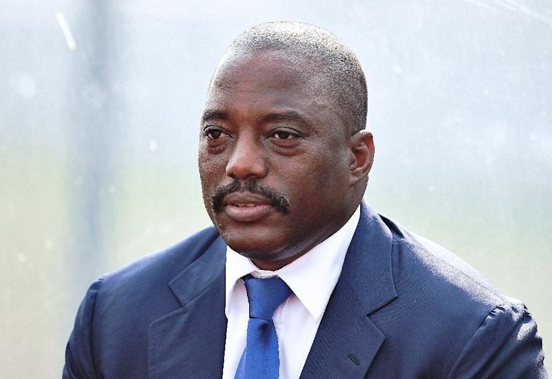 DR Congo leader Joseph Kabila has been in power since 2001 and is believed to be eyeing a third term (AFP Photo/Carl De Souza)