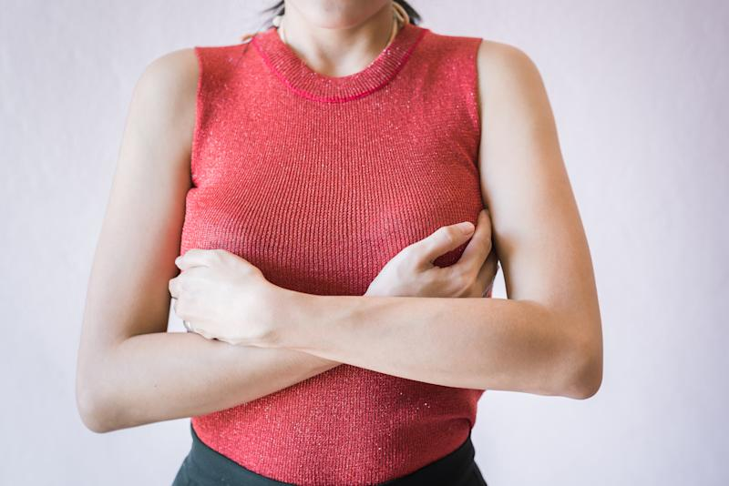 Women in the UK are more conscious about their breasts than in almost all other countries. [Photo: Getty]