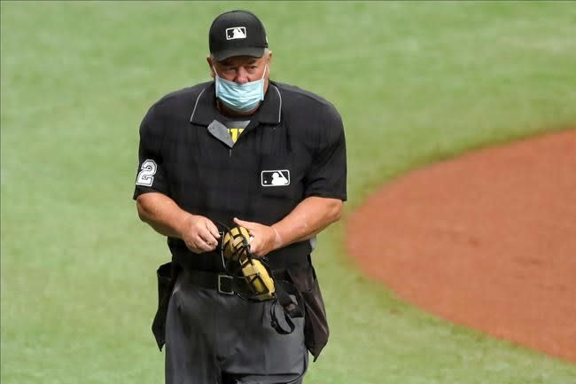 Angel Hernandez now interim umpire crew chief after opt outs