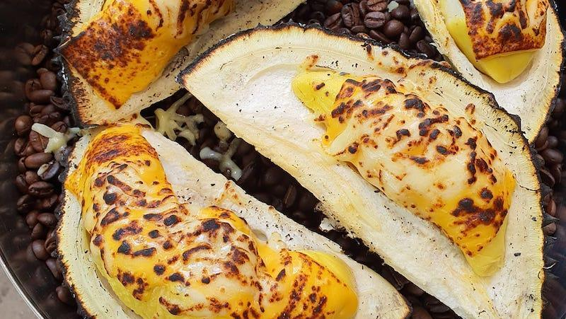 Picture of Charcoal Grilled Durians
