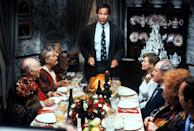<p>Stave off turkey coma by gathering together in front of the TV after dessert to watch a classic Thanksgiving movie together: pick the same movie every year, or have fun letting a different family member choose the film each time.</p>