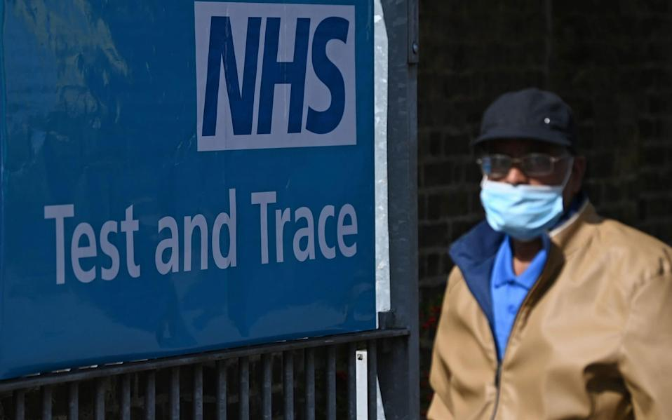 Ministers promised that the £12 billionTest and Trace programme would keep Covid at bay over the winter - Daniel Leal-Olivas/AFP