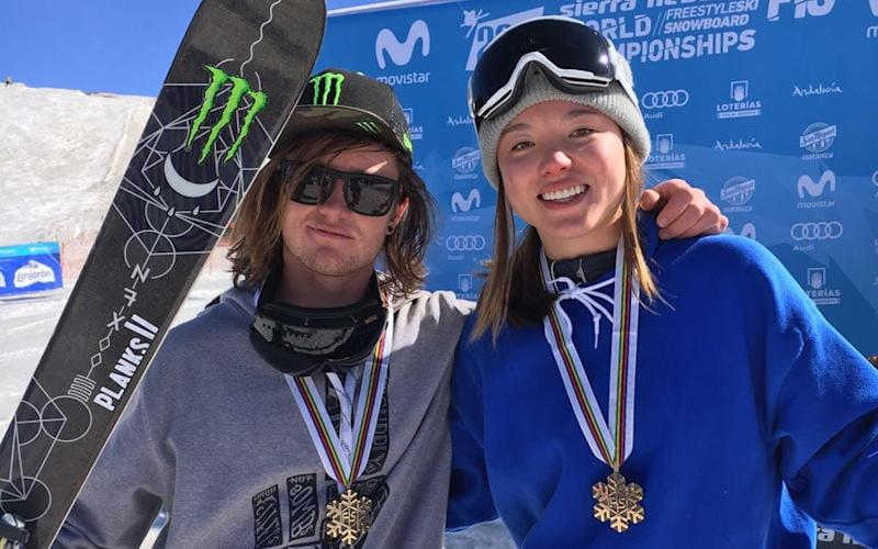 James Woods and Isabel Atkin each claimed a bronze medal at the freestyle World Championships - GB Park and Pipe