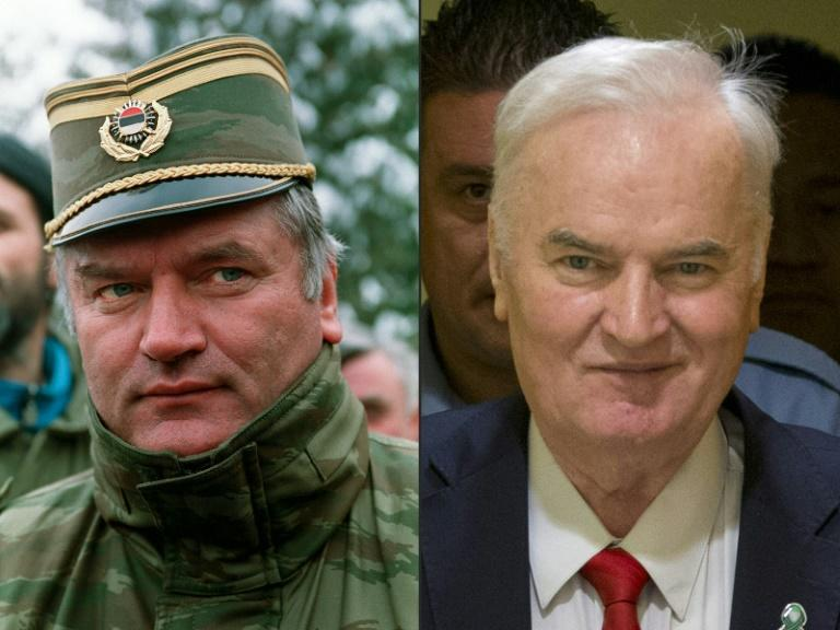 Sceptics feared the tribunal would secure no indictments, no convictions and no sentences -- but confounded the naysayers, not least with a life sentence for Bosnian Serb military leader Ratko Mladic, pictured in 1994 and in court for his verdict
