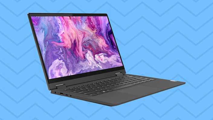 Whether you're working from home or just playing around, this Lenovo laptop/tablet's got you covered. (Photo: Walmart)