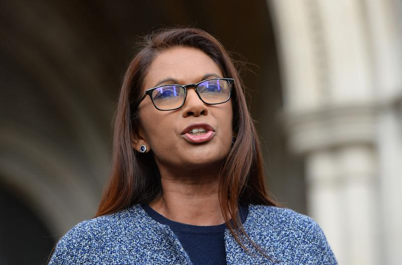 Gina Miller speaks to the media at the High Court in London where three judges have ruled against the Prime Minister's decision to trigger Article 50 of the Lisbon Treaty of the Lisbon Treaty and start the UK's exit from the European Union without the prior authority of Parliament.